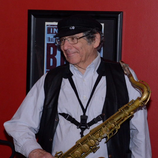 Photo of Dick Lourie, sax